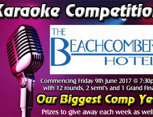 Karaoke Competition starts June 9
