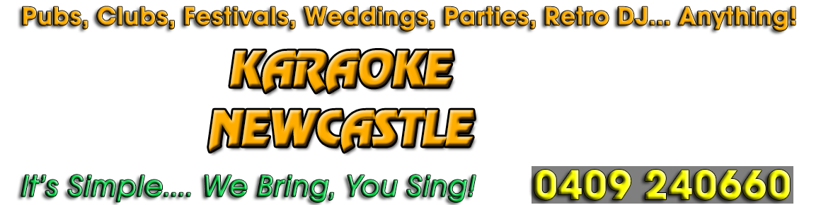Karaoke Newcastle Logo