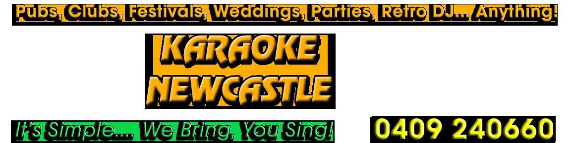 Karaoke Newcastle Logo